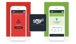 SAIP application alerte attentat