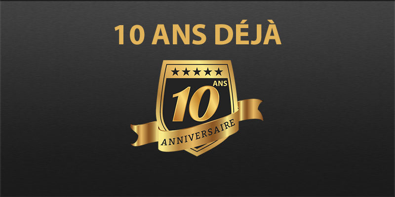 Image result for 10 ans anniversaire entreprise
