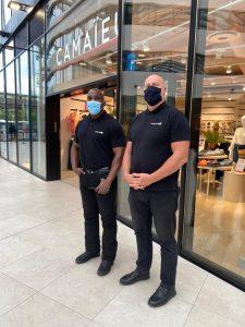 agent de sécurité centres commerciaux